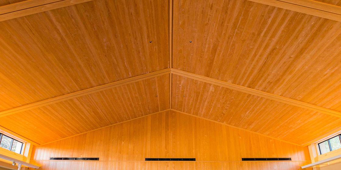 人に、社会に、地球にやさしい「木造建築」